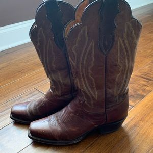 Justin L2680 Women's Rosebud Cowgirl Boots